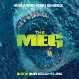 Обложка к диску с музыкой из фильма «Мег: Монстр глубины»