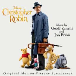 Обложка к диску с музыкой из фильма «Кристофер Робин»