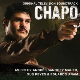 Обложка к диску с музыкой из сериала «Эль Чапо»