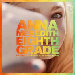 Обложка к диску с музыкой из фильма «Восьмой класс»