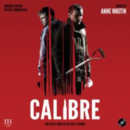 Обложка к диску с музыкой из фильма «Калибр»