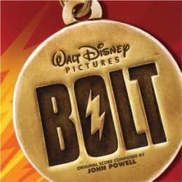 Обложка к диску с музыкой из мультфильма «Вольт»