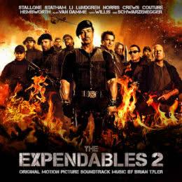 Обложка к диску с музыкой из фильма «Неудержимые 2»
