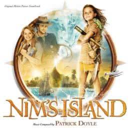 Обложка к диску с музыкой из фильма «Остров Ним»