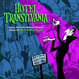 Обложка к диску с музыкой из мультфильма «Монстры на каникулах»