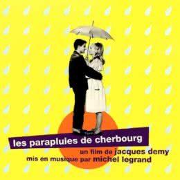 Обложка к диску с музыкой из фильма «Шербургские зонтики»