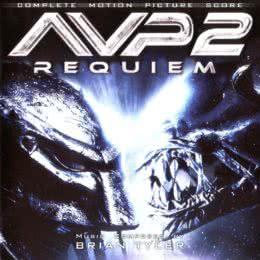 Обложка к диску с музыкой из фильма «Чужие против Хищника: Реквием»