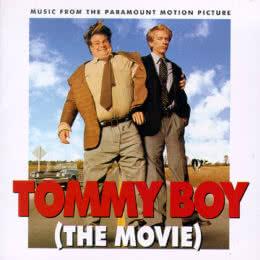 Обложка к диску с музыкой из фильма «Увалень Томми»