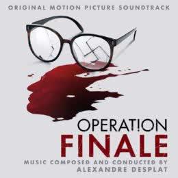 Обложка к диску с музыкой из фильма «Операция «Финал»»