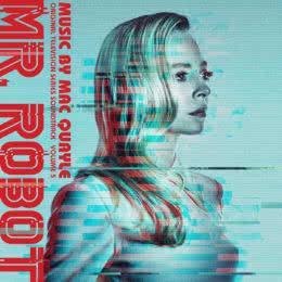 Обложка к диску с музыкой из сериала «Мистер Робот (Volume 5)»