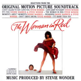Обложка к диску с музыкой из фильма «Женщина в красном»