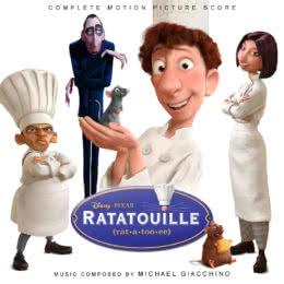 Обложка к диску с музыкой из мультфильма «Рататуй»