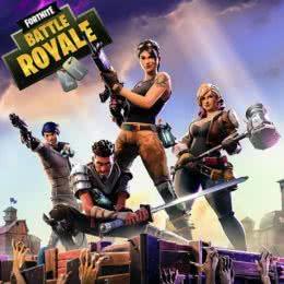 Обложка к диску с музыкой из игры «Fortnite Battle Royale»