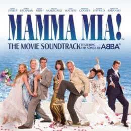 Обложка к диску с музыкой из фильма «Мамма Mia!»