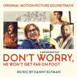 Маленькая обложка к диску с музыкой из фильма «Не волнуйся, он далеко не уйдёт»