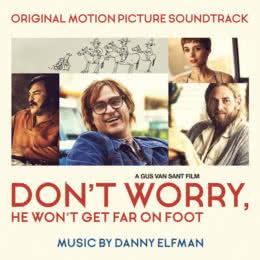 Обложка к диску с музыкой из фильма «Не волнуйся, он далеко не уйдёт»