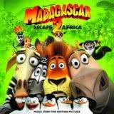Маленькая обложка диска c музыкой из мультфильма «Мадагаскар 2»