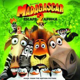 Обложка к диску с музыкой из мультфильма «Мадагаскар 2»