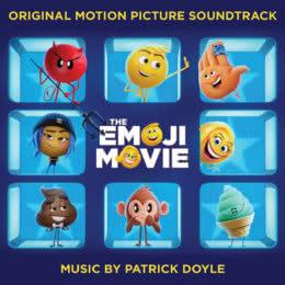Обложка к диску с музыкой из мультфильма «Эмоджи фильм»