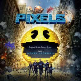 Обложка к диску с музыкой из фильма «Пиксели»