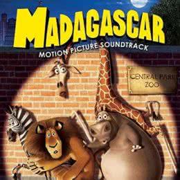 Обложка к диску с музыкой из мультфильма «Мадагаскар»