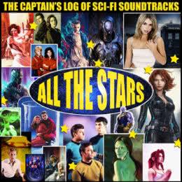 Обложка к диску с музыкой из сборника «Лучшее из фантастики»
