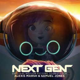 Обложка к диску с музыкой из мультфильма «Следующее поколение»