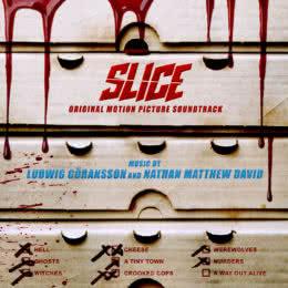 Обложка к диску с музыкой из фильма «Слайс»