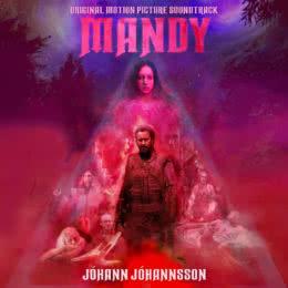 Обложка к диску с музыкой из фильма «Мэнди»