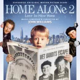 Обложка к диску с музыкой из фильма «Один дома 2: Потерянный в Нью-Йорке»