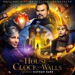 Обложка к диску с музыкой из фильма «Тайна дома с часами»