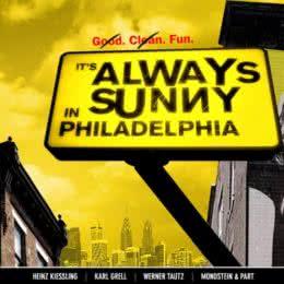 Обложка к диску с музыкой из сериала «В Филадельфии всегда солнечно»