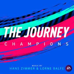 Обложка к диску с музыкой из игры «FIFA 19 The Journey: Champions»