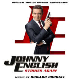 Обложка к диску с музыкой из фильма «Агент Джонни Инглиш 3.0»