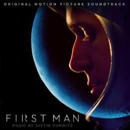 Обложка к диску с музыкой из фильма «Человек на Луне»
