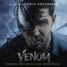 Обложка к диску с музыкой из фильма «Веном»