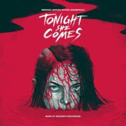 Обложка к диску с музыкой из фильма «Она придёт сегодня ночью»
