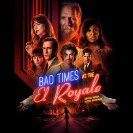 Обложка к диску с музыкой из фильма «Ничего хорошего в отеле «Эль рояль»»