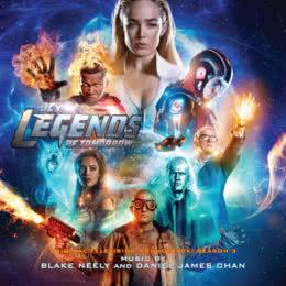 Обложка к диску с музыкой из сериала «Легенды завтрашнего дня (3 сезон)»