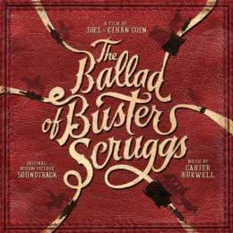Обложка к диску с музыкой из фильма «Баллада Бастера Скраггса»