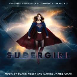 Обложка к диску с музыкой из сериала «Супергерл (3 сезон)»