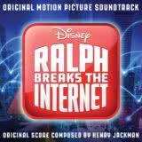 Маленькая обложка диска c музыкой из мультфильма «Ральф против интернета»