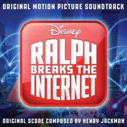 Обложка к диску с музыкой из мультфильма «Ральф против интернета»