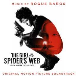 Обложка к диску с музыкой из фильма «Девушка, которая застряла в паутине»