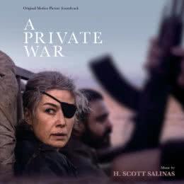 Обложка к диску с музыкой из фильма «Частная война»