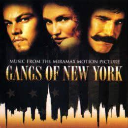 Обложка к диску с музыкой из фильма «Банды Нью-Йорка»