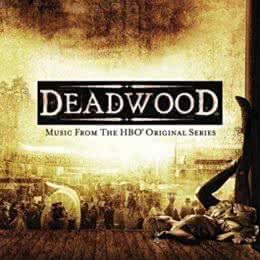 Обложка к диску с музыкой из сериала «Дедвуд»