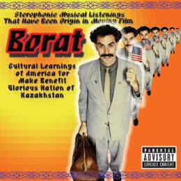 Обложка к диску с музыкой из фильма «Борат»