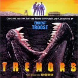 Обложка к диску с музыкой из фильма «Дрожь земли»