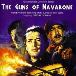 Обложка к диску с музыкой из фильма «Пушки острова Наварон»